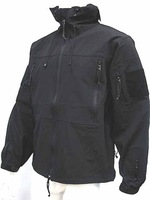 Gen 4 Hoodie Soft Shell Waterproof Jacket Black Size free ship