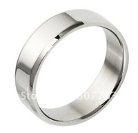 New Arrival 5.5MM Classic Simple Smooth Blank Stainless Steel 316L Men's Gift Ring SZ#7-10