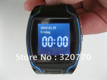 Wrist watch cell phone single card GPS modem GPS tracker with message ,For child kid elderly as GIft TK109 X5 &Free Shipping