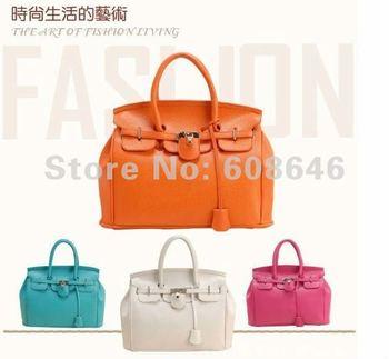 Free shipping New European/USA style, PU leather,super sart, women tote bag;50pcs/lot