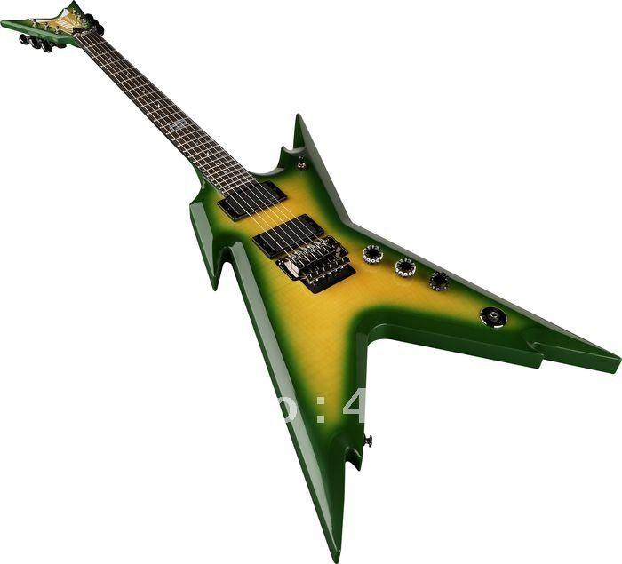 Green Electric Guitar Electric Guitar Green