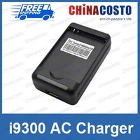 i9300 AC Battery Charger Desk Cradle Dock With USB Output For Samsung Galaxy S3 SIII,Wholesales 20pcs/lot