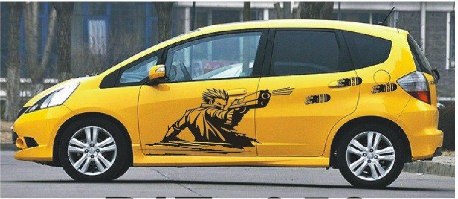 Car Body Sticker Malaysia Cartoon Body Car Sticker
