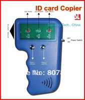 Free shipping 125Khz Portable RFID Copier Kit  ID card duplicator&Reader&Writer+125KHz rewritable Card and Keyfob