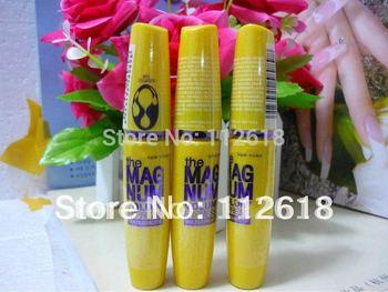 1PCS/LOT Cheap Brand makeup High quality same Original the magnum volum express waterproof Mascara black drop shipping