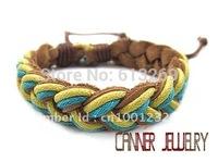 sl108/pu ,high quality  casual  bracelet,100%  Pure handmade jewelry ,wholesale , factory prices,adjustable  bracelet