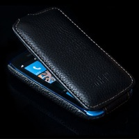 Original Genuine Leather Pouch Flip Case For Nokia Lumia 610 Back Cover Free Shipping