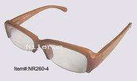 wooden optical glasses, wood optical glasses,  wood reading eyeglasses