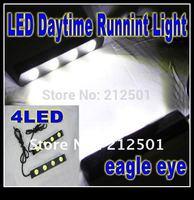 Free shipping Waterproof Daytime Running Light 4 LED Eagle Eye Lights Lamp Rogue Light