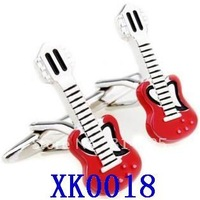 Free shipping! Guitar cufflinks, men's cufflinks    XK0018