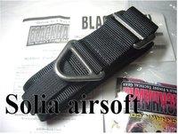 BlackHawk CQB Rescue Riggers Tactical Rappelling Belt 30-41 Black 41CQ01BK