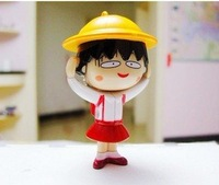 Chibi Maruko Funny Face Change Mini Key Chain /Bag Decoration Free shipping 20pcs/lot