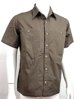 Tactical BDU Short Sleeve Shirt Charcoal free ship