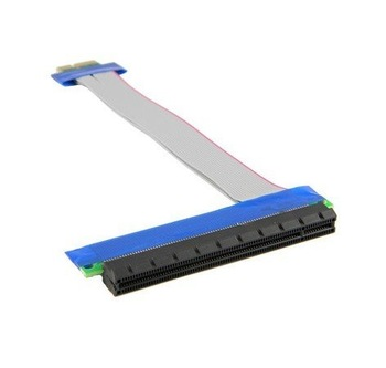 Brand New PCIe Express x1 to x16 Adapter Extender Cable  / PCIe x1 to x16 Adapter Riser Card Flexible Extender Cable 20pcs/lot