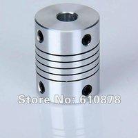 Free Ship , Standard Aluminium CNC Stepper Motor Flexible Coupling Shaft Coupler,Inner 6x8mm,L*D=25*18mm