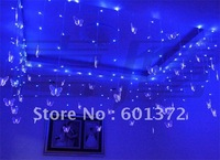 8*0.75M 192pcs LEDs 48butterfly  220V LED curtain light Christmas/wedding/party/hotel decoration