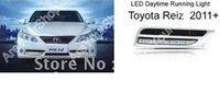Car LED Daytime Running Driving Fog light lamp Fit For Toyota Reiz 2011+ 6000K Xenon White