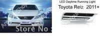 Car LED Daytime Running Driving Fog light lamp Fit For Toyota Reiz 2011+ 6000K Xenon White
