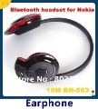 Free Shipping 1pcs 503 Bluetooth Stereo headset hot sale earphone ,Stereo Bluetooth Earphone  in stock