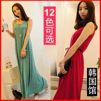 Hot-selling 2012 women's one-piece dress tank dress full dress bohemia length full dress beach dress