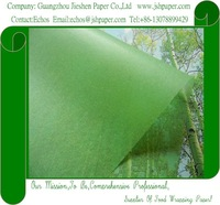 17 GSM grass-green MG acidfree tissue paper,Perfume Packaging