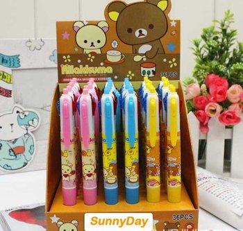Free shipping 4 color bear Ballpoint pen/gift ball pen