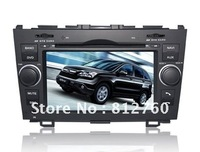 Car dvd Stereo for Honda CRV with built in GPS bluetooth TV FREE SHIPPING +Free SD CARD with Map