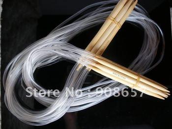 "15 sizes 48"" Bamboo Circular Knitting Needles US0-15"