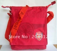 Arsenal FC Soccer Shoulder Bag Satchel Handbag Messenger Bag Red