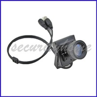Mini 420TVL Sharp CCD 25mm Low Illumination Lens CCTV Box Camera