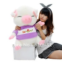 Dress three plush toy pig to pig pig Figurine