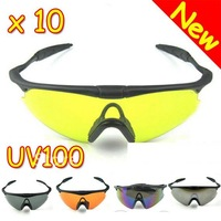 Wholesale Lots Of 10 2012 New UV100 X100 Cycling Bicycle Bike Sports Outdoor Climbing Goggles SunGlasses