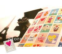 Free Shipping 12 set Vintage Hand-drawn Deco Stamp Sticker / Creative Decoration Laber DIY wholesale
