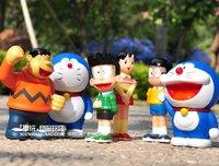 Supernova Sales! Action Figure,Doraemon,6pcs/set,Classic Cartoon Figure,12cm tall, PVC, Best gift, FREE SHIPPING
