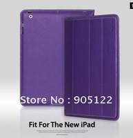 NEW Original YOOBAO Leather Case for new ipad, iSmart leather case for ipad3 ,100% Genuine Cow Leather Retail Free Shipping