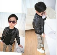 NEW ARRIVAL ! 2012 boy autumn Korean version of children's short long-sleeved cardigan,baby jacket,Thin coat