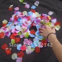 Artificial beautiful Rose Petals,2000 pcs/lot free shipping. Many colors rose petals for your choose.