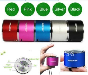100pcs HOT Mini Music box MUSIC ANGEL mini speaker original quality+FM+TFcard+Factory wholesale+DHL/FEDEX delivery+Gift Speaker