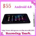 New Arrive 7 inch touch screen VIA8850 WM8850 Cortex A9 Wifi 3G Android 4.0 tablet pc(China (Mainland))