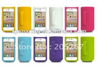silicon cup case back cover for iphone 4g 4s