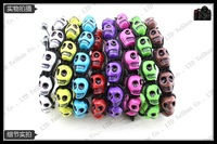 Free Shipping, Newest Shamballa Skull Bead Shamballa Bracelet Wholesale And Retail (20pcs/lot)