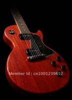 FREE SHIPPING New arrival Musical Instrument red electric guitar