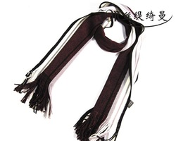 SM men's silk scarf printing muffler long fashionable neckerchief man's shawl(China (Mainland))