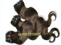 "16""-20""-22""-24""-26""big discount 5pcs/lot mix length top quality  Indian human remy hair weaving body wave"