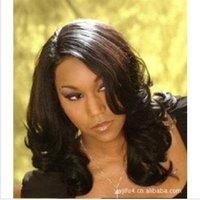 2012 Hot sales,Fashion wig, Long hair, bright wig, no bang, ladies' fashion wig,beautiful charming wig,free shipping.