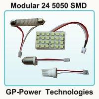 2012 Newest Free shipping+20pcs/lot+T10/W5W Modular Type 3 Bases 24SMD Car LED