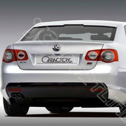 FRP Material Car Rear Wing for Jetta 2008 Trunk Spoiler Caractere Style(China (Mainland))