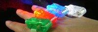 Free shipment Multicolored LED Laser Beans Finger Lights (4-pack)