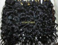 "5bundles/lot  wholesale 83g/bundle Indian human remy hair Italian curl 28"" best quality #4 medium brown"
