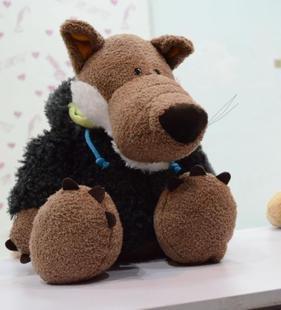 Season of graduation ceremony gifts Germany Kei NICI single genuine plush sheep wolf children favorite toy